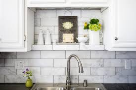 houzz kitchen backsplash marble subway tile backsplash spaces transitional with my houzz 1