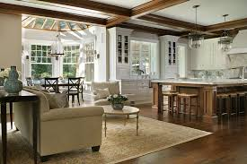 Kitchen And Great Room Floor Plans Open Kitchen And Living Room Design Ideas
