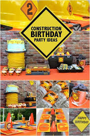 construction party ideas a boy s construction themed birthday party spaceships and laser beams