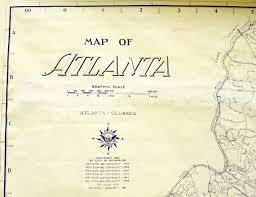 Map Letters The 1980 Atlanta Map Project Cara Caravan Art Blog