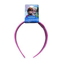 frozen headband disney plastic printed wide headband with bow sign