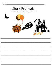 free pumpkin themed worksheet math and story printables