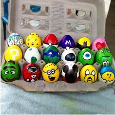 kids easter eggs painted easter egg ideas minion eggs for easter