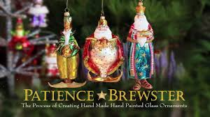 patience brewster made painted glass ornaments