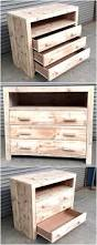 repurposed pallets wood chest of drawers wood pallet furniture