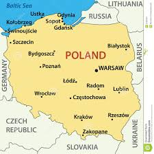 Lithuania World Map by Poland Proudly Europe Global Villageglobal Village