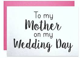 wedding gift note to my on my wedding day wedding thank you card parents of