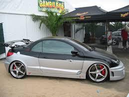 peugeot 206 convertible peugeot 206cc parotech concept tuning cars pinterest peugeot