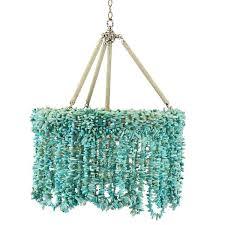 turquoise beaded chandelier shop chandeliers page 4 scenario home