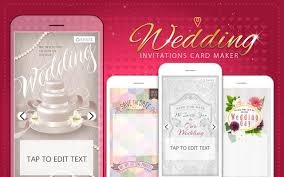 wedding invitations maker wedding invitations card maker android apps on play
