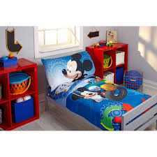 Mickey Mouse Bed Sets Bed Mickey Mouse Toddler Bedding Set Home Interior Decorating