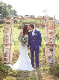 wedding backdrop book why it works wednesday whimsical birchwood ceremony arbor vintage