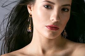 Huge Chandelier Earrings Swaying Drama
