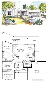 pueblo style house plans santa fe house plan 69352 total living area 1760 sq ft 3