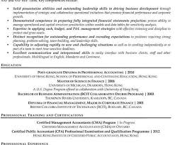 stunning resume for cma accountants photos top resume revision