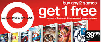 black friday target video games friday worthy deal buy any two video games get 1 free on target