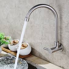best kitchen faucet for the designer goose neck shaped wall mount best kitchen faucets