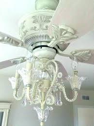 Ceiling Fan Chandelier Light Ceiling Fan Chandelier Light Image Of With Crystals Fixture