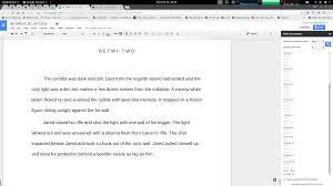 using google docs for novel writing ken mcconnell com