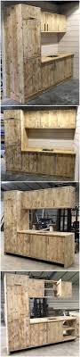 kitchen cabinets from pallet wood 60 ingenious diy pallet projects wood pallet creations