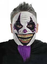 latex halloween mask kits evil scary clowns scary clown costumes props masks