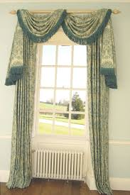 How To Hang A Curtain Window Treatments How To Hang Swag Curtains Some Inspiration How