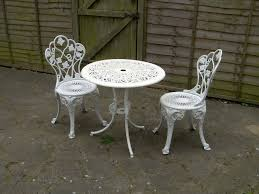 round cast iron table patio bistro set aluminium cast iron table chairs garden patio metal