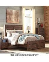 Bed And Nightstand Set Cyber Monday Savings Sharlowe King Bedroom Set With Storage Bed