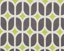Keystone Upholstery Supplies Teal Grey Geometric Upholstery Fabric Heavyweight Woven