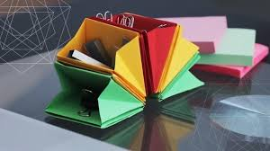 Origami Desk Organizer Diy Desk Organizer Back To School Hack