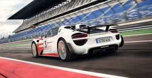 electric porsche 918 porsche 918 spyder weissach pack option claims 2 6sec 0 100km h
