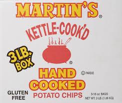 amazon com martin u0027s b b q waffle potato chips 3 lb box
