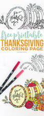 free printable thanksgiving coloring printable crush