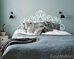 headboard wall art headboard wall decal bedroom headboard decal headboard