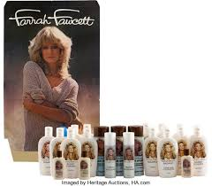 farrah fawcett hair color a farrah fawcett collection of hair products circa lot 89040