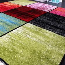 teppich kinderzimmer teppich kinderzimmer karo kinderteppich mehrfarbig meliert rot