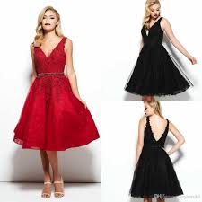 2016 holiday party cocktail dresses spring summer new red