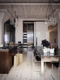 lighting flooring kitchen pendant ideas glass countertops oak wood
