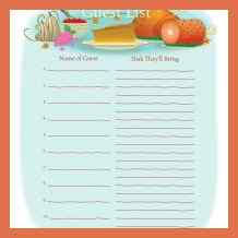 thanksgiving potluck sign up sheet bio exle