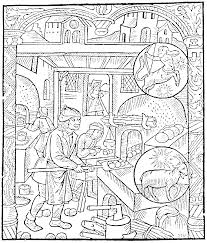 overview of cooking equipment in the medieval kitchen