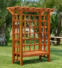 arbor bench plans garden arbor kits home outdoor decoration