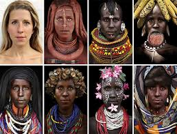 i morphed myself into tribal to raise awareness of their