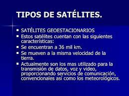 imagenes satelitales caracteristicas satelite