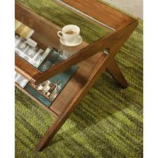 ink ivy blaze brown triangle wood side table amazon com rocket coffee table pecan kitchen dining