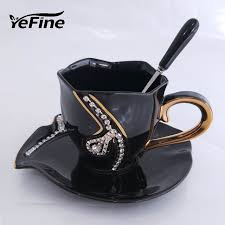 aliexpress com buy yefine diamonds design coffee mug creative
