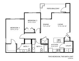 three bedroom two bath house plans 36 best floor plans images on floor plans