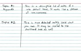 4 lined paper english writing the most effective way to take notes in class edudemic notecard2