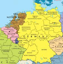 Map Of Netherlands Map Of Belgium And France My Blog