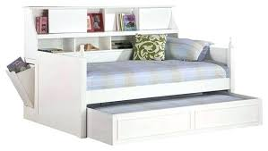 bookcase bed with trundle full size bookcase daybed with trundle