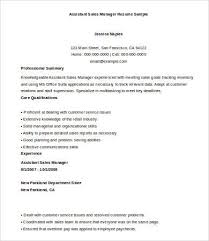 Sales Manager Resume Example by Sales Manager Resume Free U0026 Premium Templates